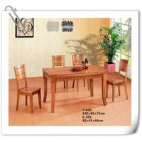 rubber wood Dining Table (T-620)