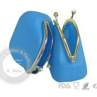 Silicone purse ,silicone lady bag ,silicone key bag wholesale ,price , factory