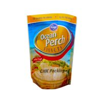 China CHK Packing ziplock doypack for frozen seafood plastic packaging