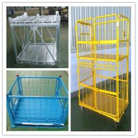 Stainless steel box pallet