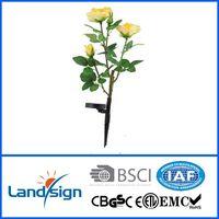 flip flap solar flower light solar lily light in solar lawn lights thumbnail image