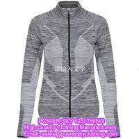 Gym Yoga Sports Jackets From Power Sky Yoga Clothing Manufacturers