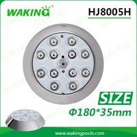 Stainless steel waterproof LED pool lights