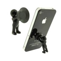 Originality Hercules mobile phone holder Mini desk villain 3D Man cellphone bracket Smart Phone Stan