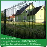 Guangzhou Factory price galvanized fencing front yard fence