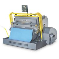 ML1200 sale of hand Fed Platen flat bed die cutting creasing and machine