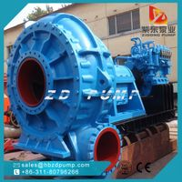 heavy duty river sand suction dredge pump
