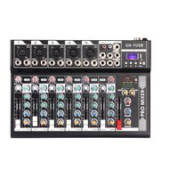 Professional mixer, Bluetooth USB, stage performance, pure mixer