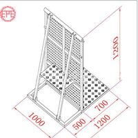Event Concert Aluminum Crowd Control Mojo Stage Barrier thumbnail image
