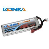 Bonka lipo battery 4200mah 11.1V 45C/90C 3S for rc helicopter