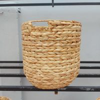 Wholesale beach straw clutch basket bag with handle thumbnail image