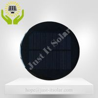 6V 100mA 0.6W Diameter 100mm Mini Round Solar Cell