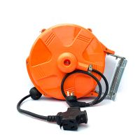 High quality socket cable reel 10 M power cable reel with socket thumbnail image