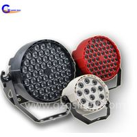 Mini 54pcs 1w LED wash par can light for decoration with small size palstic body