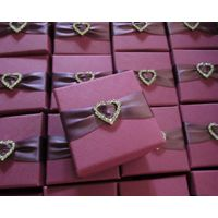 high quality square paper gift box