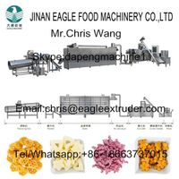 Low consumption puff snacks machine corn puff extruder machine processing machinery