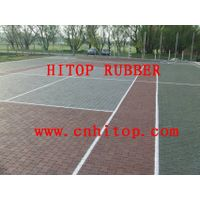 outdoor sports rubber tiles