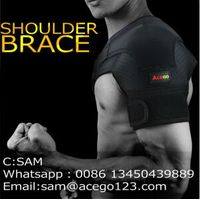 compression ajustable shoulder support brace