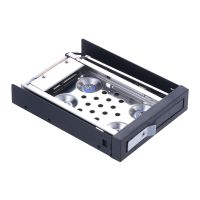 "2.5"" Shockproof SATA III Hard Drive Enclosure HDD & SSD Tray Caddy Internal Mobile Rack Docking Stat"
