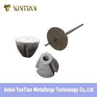 Metallurgical dart