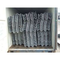 steel roadway/highway guardrail used