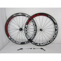 full carbon bicycle wheel road bicycle rim 50mm clincher blade spoke thumbnail image