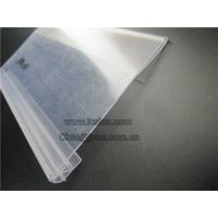 Supermarket plastic label holder data strip for shelf LC-487