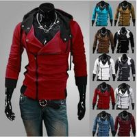 Hot sale 2014 Autumn and Winter New Fashion Slim Fit Causal Hoodies Men, Men's hoodie Jackets thumbnail image