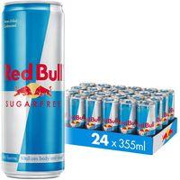 Red Bull Energy Drink Sugar Free 24 Pack 355 ml, Sugarfree thumbnail image