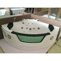 Chinese Mainland Acrylic Corner Jet Whirlpool Massage Bathtub