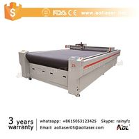 CNC Oscillating knife Cutting Machine/Vibrating knife Cutter with auto feeding working table