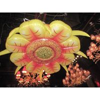 2m Hanging Decorative Inflatable Flower for Event and Stage Decoration