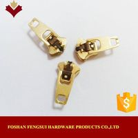 Factory supply OEM metal zips slider