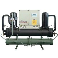 Scroll type chiller
