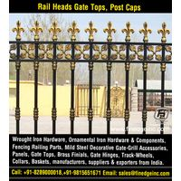 wrought iron fence gate hardware panels manufacturers exporters suppliers India