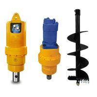 Adh 10-13t Series Hot Sales Hydraulic Drive Earth Auger Drill for Excavator, Earth Auger Drive for E thumbnail image