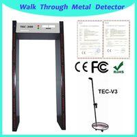 metal detector price TEC-200 multi-zone walk through metal detector thumbnail image