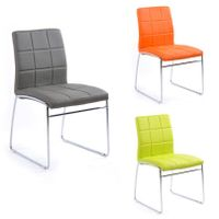 The most popular  leather PU/PVC dining chair TY054