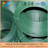 ral 6005 dark green color pvc coated iron wire used for binding wire