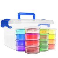 12 24 36 Color Slime Kit Slime Supplies Make Your Own Slime for Girls Boys Kids