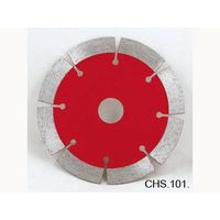 Diamond circular saw blade, hot pressed