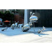 Customized Modern Insect Metal Art Sculpture thumbnail image