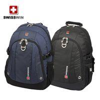 SWISSWIN Army knife computer shoulder backpack men backpack schoolbag Students backpack thumbnail image