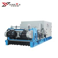 Large-span concrete hollow core slab machine