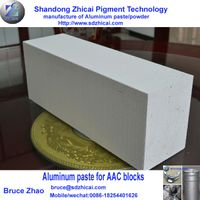 AAC Blocks Aerated cement pipes used aluminum paste powder aluminum