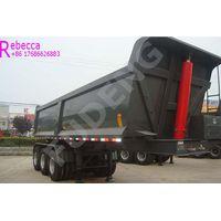 Heavy duty 50 tons 3 axle tipper trailer tipping dumper semi trailer for sale thumbnail image