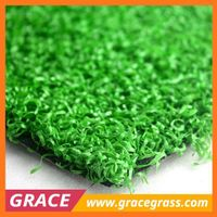 simple installation breathable golf fake grass