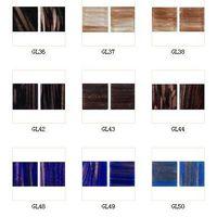 Glass mosaic gold line series