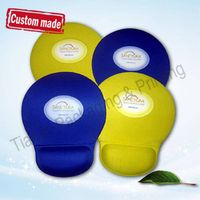 Guaranteed quality shanghai factory Blank White Color MousePad with Heat Transfer Printing