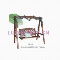Wooden Swing Garden Swing  porch swing  Leisure swingOutdoor Furniture Garden Furniture China Factor